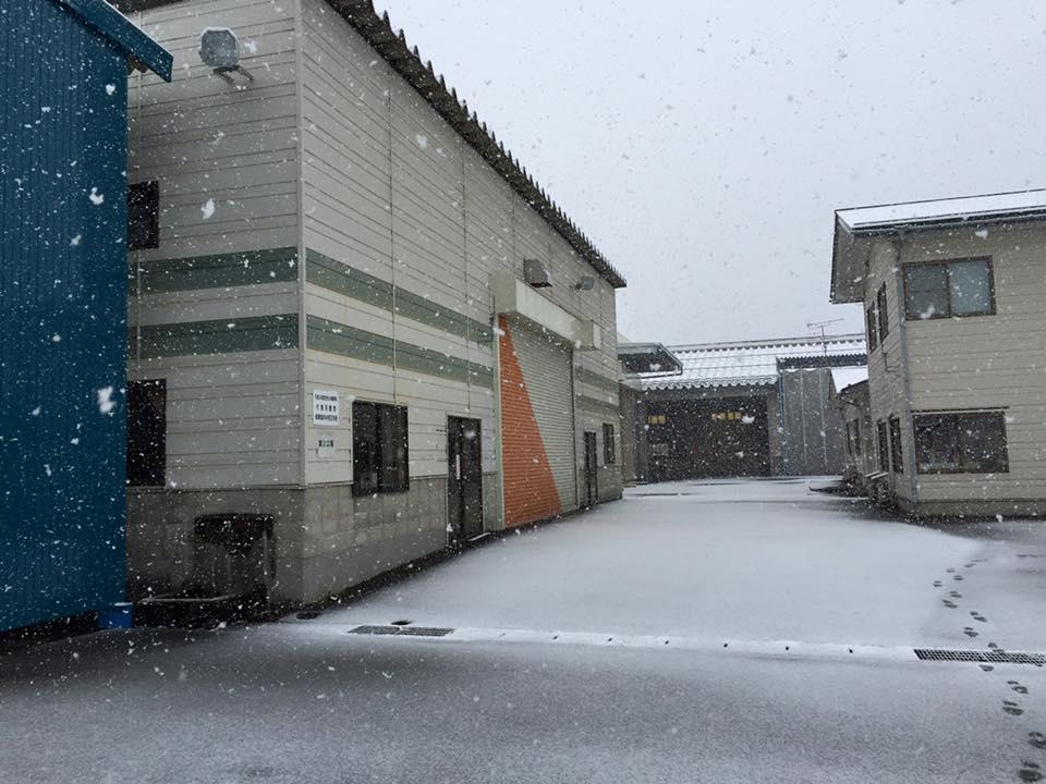 飛騨匠工場 雪化粧
