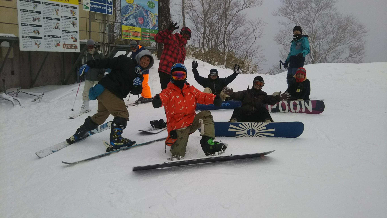 スマイル発信課 ~1月 スキー・スノーボード~